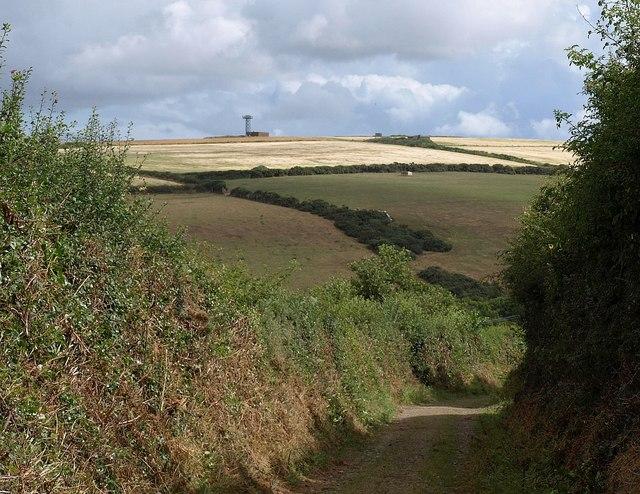 Lane near Tregustick