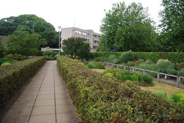 UEA: formal gardens