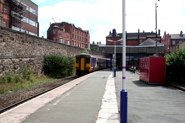 Wigan Wallgate Station.