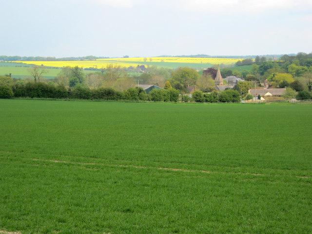 Arable land around East Kennett