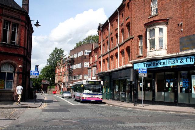 Wigan:  King Street West