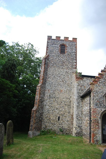 Tower, St Mary's Church, Earlham