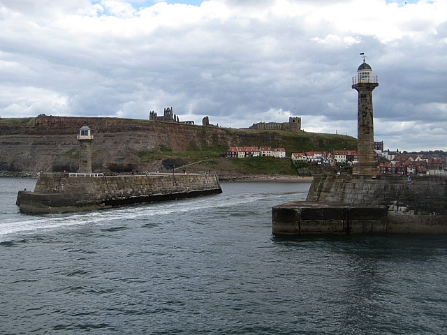 Whitby lighthouses