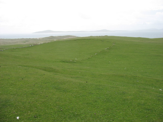 Pabbay - an old field boundary
