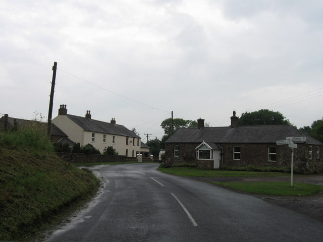 Road junction at Boltonfellend