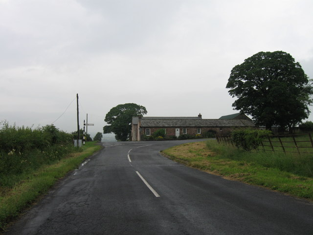 Road junction north of Boltonfellend