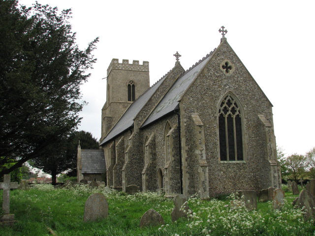 St Mary's church in Gunthorpe