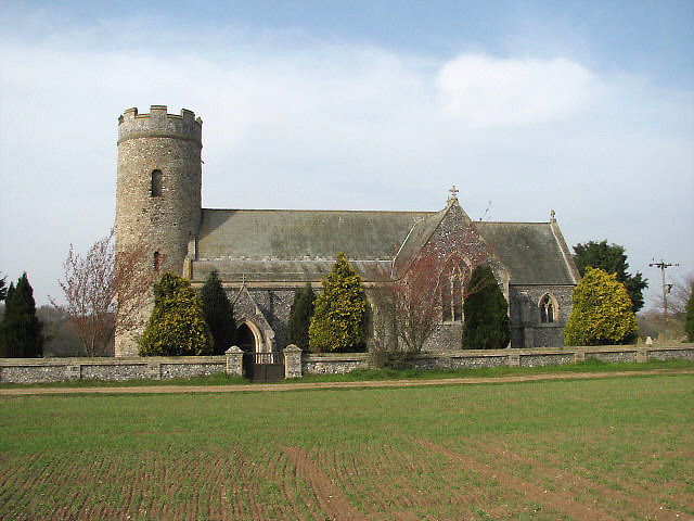 St Peter's church in Haveringland