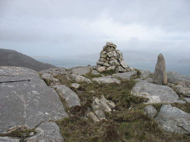 The summit of Beinn fo Thuath