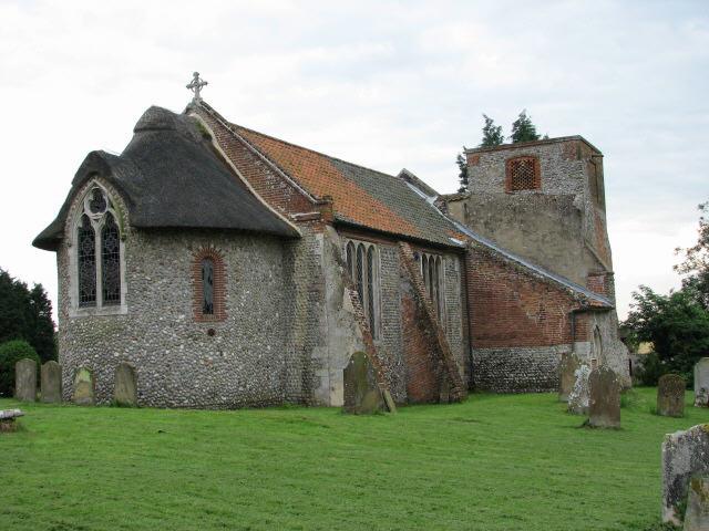 All Saints' church in Hempstead nr Holt