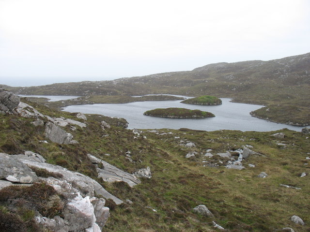 Loch Uidemul, Scarp