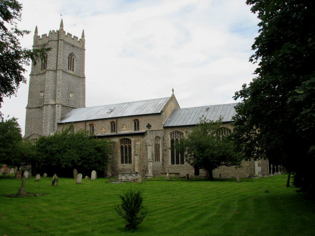 The church of SS Peter and Paul in Heydon