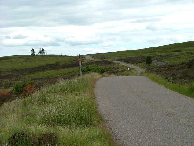 The road to Dava