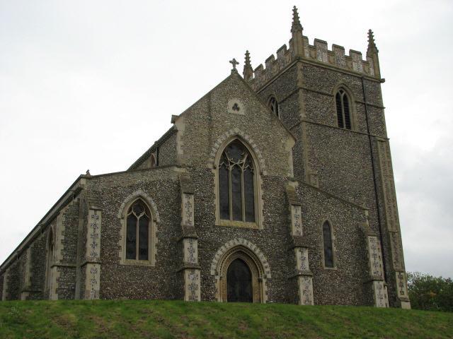 St Withburga's church in Holkham Park