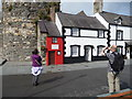 SH7877 : The smallest house in Great Britain, Conwy quayside : Week 28
