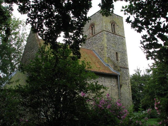 St Mary's church in Houghton on the Hill