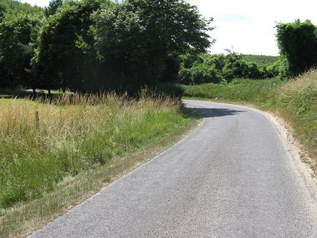 S-bend on Droke Lane