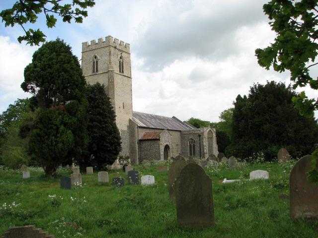 The church of St Lawrence in Hunworth