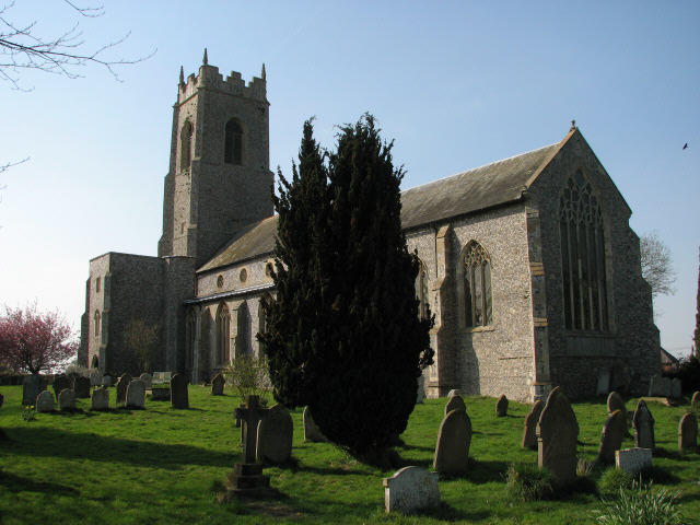 The church of Holy Trinity in Ingham