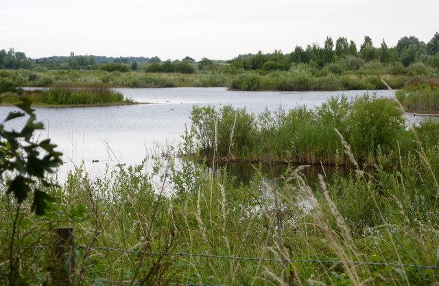 Lake north of Chain Bridge Lane