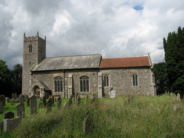 St Peter's church in Lingwood