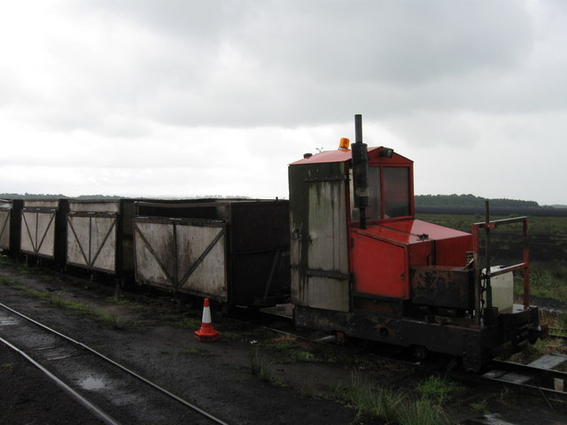 Peat train, Bolton Fell