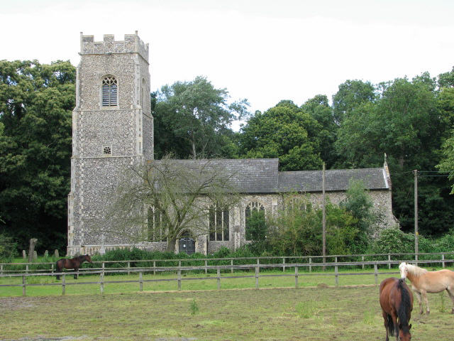 St Andrew's church in North Burlingham