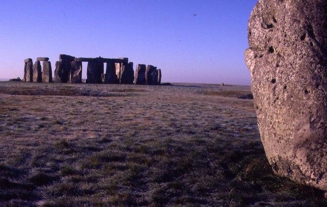 Stonehenge from the Heel Stone