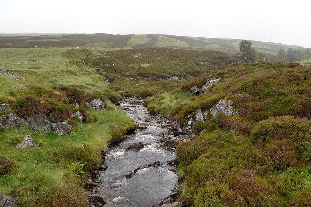 Burn close to Loch Errochty