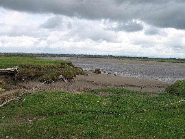 Rockcliffe Marsh, tidal inlet
