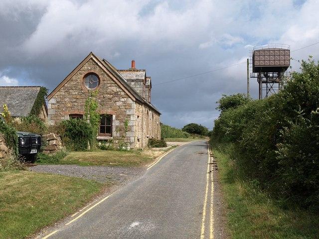 Lane near Trebarber