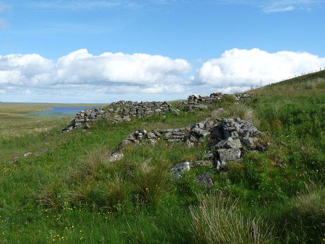 Ruin near Lochend