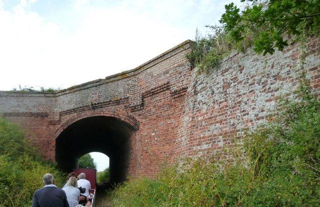Road Bridge over the Wells and Walsingham Light Railway