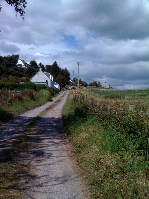 Lane in Portling