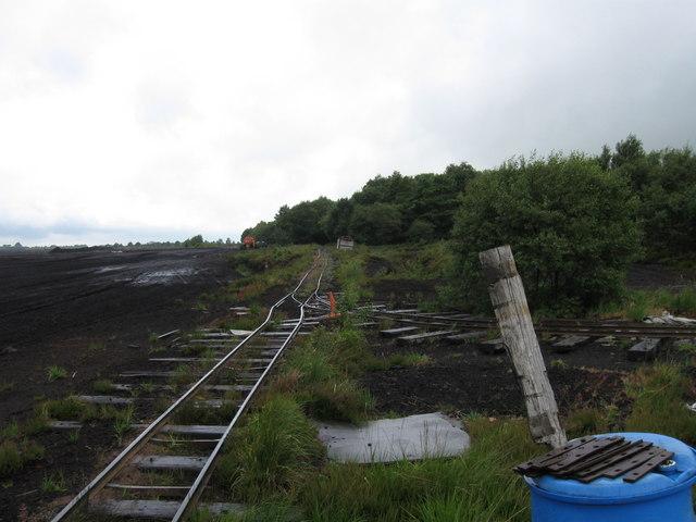 Peat railway junction