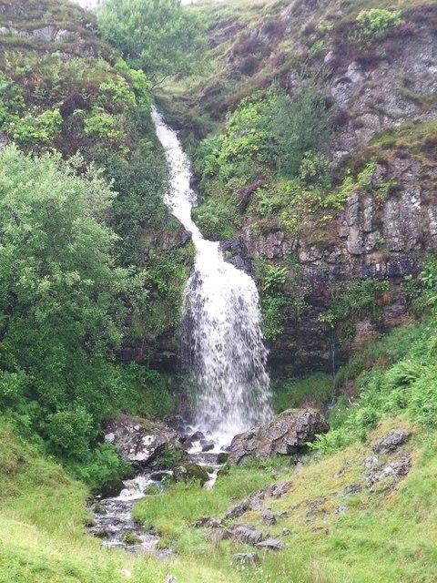Waterfall on the Banton Burn