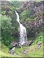 NS7380 : Waterfall on the Banton Burn by Robert Murray