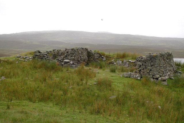 Ruin at Ruighe nan Saorach