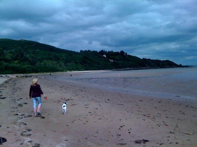 Beach at Sandyhills Bay