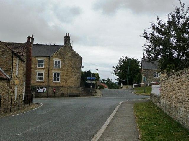 Coxwold crossroads