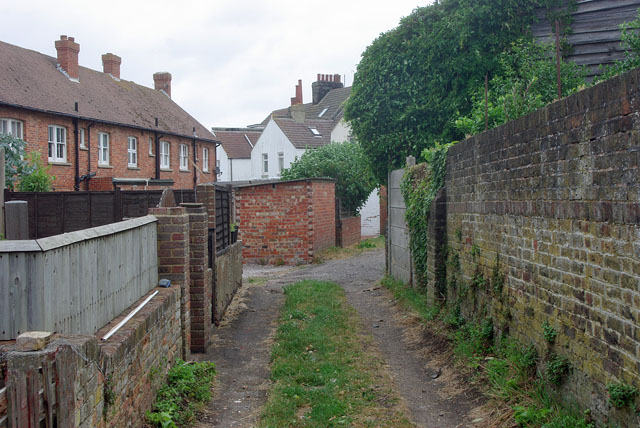 Back alley (wide) Seaford