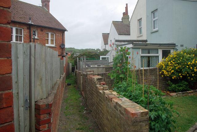 Back alley (narrow) Seaford