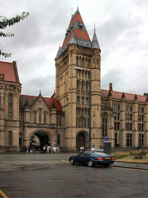 Manchester University Whitworth Building