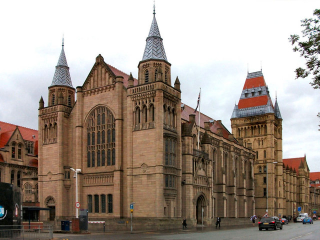 University of Manchester Whitworth Hall and Whitworth Building