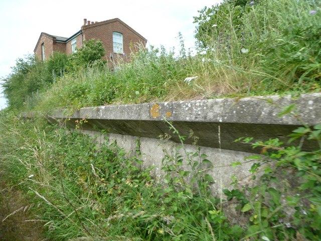 Wighton: disused platform at Setons Halt