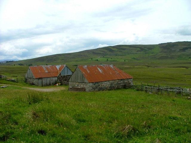 Farm buildings at Drumguish
