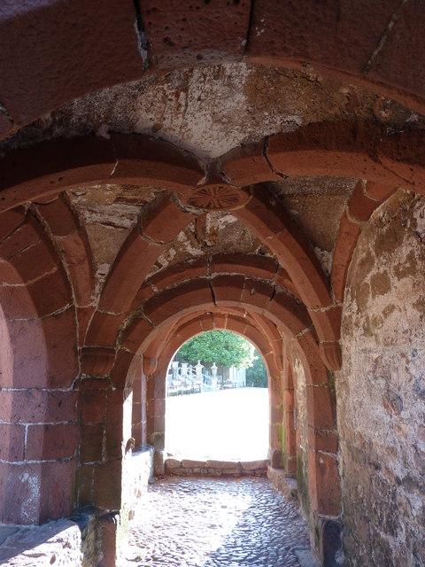 Small entrance door interior, Torre Abbey Torquay