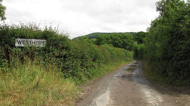 Road in Hope Dale