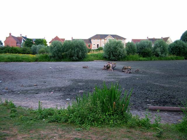 Tayfen Lake dried out