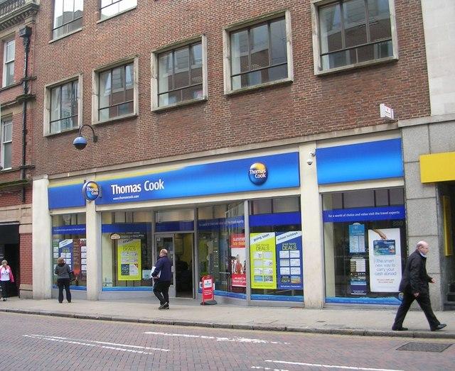 Thomas Cook - Albion Street